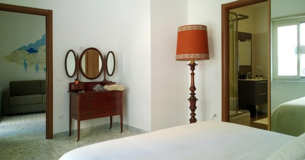 panoramica da camera da letto